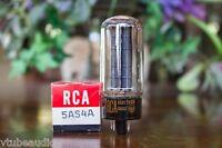One 5AS4A = 5U4GB RCA NOS NIB 1960's Rectifier Vacuum Tube Valve