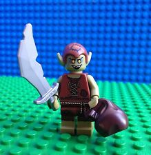Lego GOBLIN Minifigures Orc Lord of the Rings Sword Sack Castle 71008 Series 13