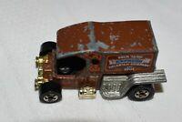 "Vintage Hot Wheels 1976 T-Totaller Brown ""Your Basic Express"" Enamel Truck"