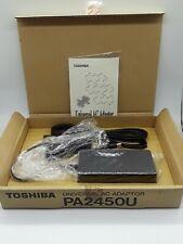 Genuine New PA2450U Toshiba Laptop AC Adapter Fits Many