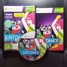 Just Dance 3 (Microsoft Xbox 360, 2011) Xbox 360 Kinect Game - FREE POST