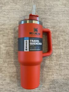 *NEW* Stanley 40 oz ADVENTURE QUENCHER TRAVEL TUMBLER  - COLOR RED (FLAME)