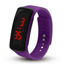 Fashion Sports Led Watch Students Second-generation Led Silicone Watchs GirlBoy