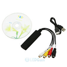 New USB 2.0 Audio Video VHS to DVD Converter Capture Card Adapter USA Ship