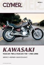 Clymer Repair Service Shop Manual Vintage Kawasaki VN700 85 VN750 86-06 Vulcan
