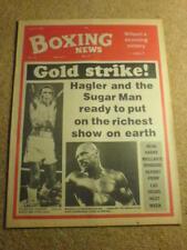 BOXING NEWS - 3 April 1987 - HAGLER LEONARD