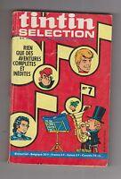 TINTIN Sélection n°7 - 1970. Moyen état