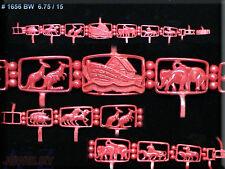 #1656 Noah Ark Bible WAX PATTERNS BRACELET JEWELRY TOOLSRubber Molds VULCANIZER