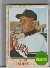 1968 TOPPS #50 WILLIE MAYS SAN FRANCISCO GIANTS HOF 6188