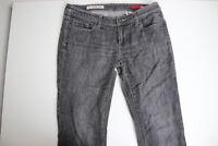 Express Womens skinny leg Jeans black w01 ultra low rise Size 6 Regular