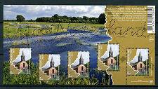 Netherlands 2017 MNH Beautiful Nethlds Reest Churches Oud-Avereest 5v M/S Stamps