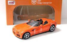 1:18 Anson Dodge Concept Car 1997 orange NEW bei PREMIUM-MODELCARS