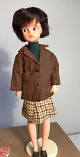 Vintage 1960s Brunette Weekender Sindy Doll - Made In England