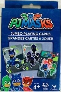 PJMASKS 2-4 Players Jumbo Playing Cards for Ages 4+