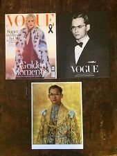 Vogue Thailand King Bhumibol Collectors Issue, December 2016, Sold Out