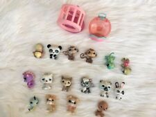 littlest pet shop lot of pets And Playground Girl's Collection Pets Toy Grab Bag