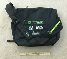 RARE Jackson Hole Wildlife Film Festival VIP Black Laptop Bag - NEW