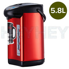 Hot Water Boiler Electric 5.8L Kettle Instant Dispenser Boiling Heating RED