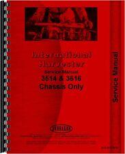 International Harvester 3514 3616 Industrial Service Manual (IH-S-3514,3616)