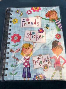 Rachel Ellen Friends Sticker Notebook, A5 Spiral
