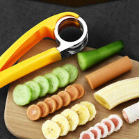 Kitchen Tool Vegetable Peeler Salad Slice Banana Slicer Chopper Fruit Cut DD