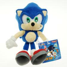 "Silver Sonic The Hedgehog Figure Stuffed Plush Soft Doll Toy 23cm 9"" Blue Sonic"
