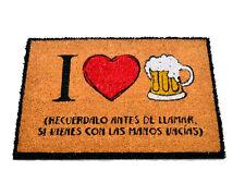 FELPUDO LOVE BEER CERVEZA. ENTREGA 24/48 HORAS.