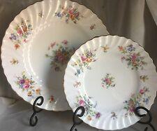 Minton English Bone China Marlow Pattern Dinner And Salad Plate s-309