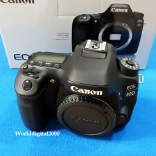Canon EOS-80D  Digital Camera -Only Body- Wi-Fi  25 Languages Selectable NFC