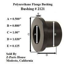 "(2121G) 1/2"" I.D. x 7/8"" O.D. x 1-1/32"" Polyurethane Flange Type Bushing"