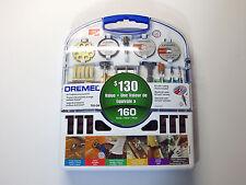 Dremel 160 Piece 710-04 All-Purpose Accessory Kit $130 Value NEW