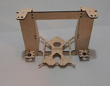 3D Printer Reprap Mendel Rework Prusa i3 Frame Laser Cut 6mm PlyWood + Screws