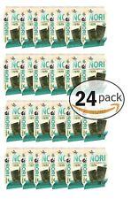 Organic Kimnori Seasoned Roasted Seaweed Snacks - 24 Pack Kim Nori Sea-Salt