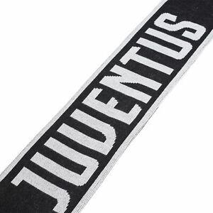 adidas Official Unisex Juventus FC Football Fans Scarf Black
