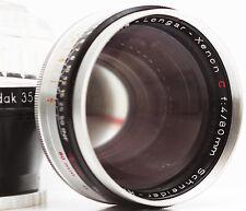Kodak Retina Longar Xenon C 80mm F4 Schneider Kreuznach Lens + Original Case