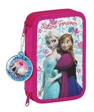 Disney Frozen 34pc Creative Pencil Case Set- Anna Elsa Olaf Girls Kids Gift 21cm