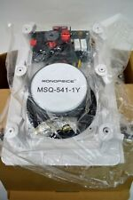 """Monoprice Set Of 2 New 5 1/4"""" 2 Way In Wall Speakers MSQ-541-1Y Tested/works"""