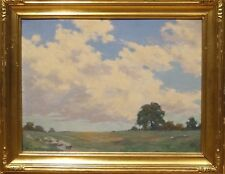 Fine 20th Century Impressionist White Plains New York Landscape Oil Painting