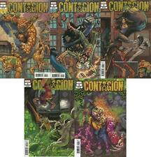 Contagion #1-5 Connecting Variant Complete Set