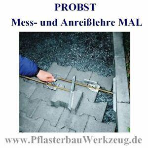 PROBST Mess- und Anreißlehre MAL GaLabau Pflasterarbeiten Pflasterbau,--