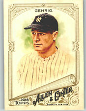(10) Lou Gehrig 2018 Topps Allen & Ginter BASE CARD LOT (x10) Yankees #225
