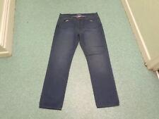 "George Straight Jeans Waist 38"" Leg 33"" Faded Dark Blue Mens Jeans"