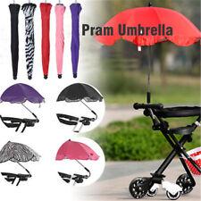 Kids Baby Sun Umbrella Parasol Buggy Pushchair Pram Stroller Shade Canopy Cover