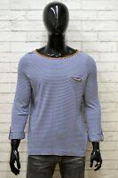Maglione Uomo RALPH LAUREN Taglia Size S Maglia Felpa Pullover Sweater Man Righe