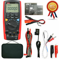 Uni T Ut71c True Rms Dmm Digital Multimeter Acdc Volt Amp Ohm Cap Temp Testekd