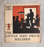 1920 LITTLE RED DEVIL RECIPES Deviled Ham WM Underwood Advertising Recipe Book