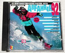 CD 16 winterolympische Pisten-Hits - ABFAHREN ´92