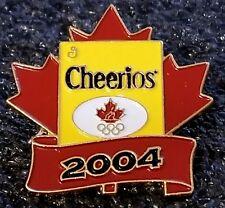 2004 Athens Olympic Cheerios TEAM CANADA SPONSOR pin