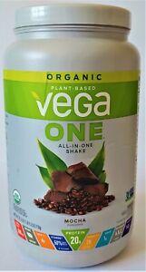Vega One Organic, Mocha Protein for Women and Men(18 Servings)