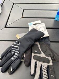 NEW Pearl Izumi Elite Softshell Gel Cycling Women's Gloves 14241604 Black Small